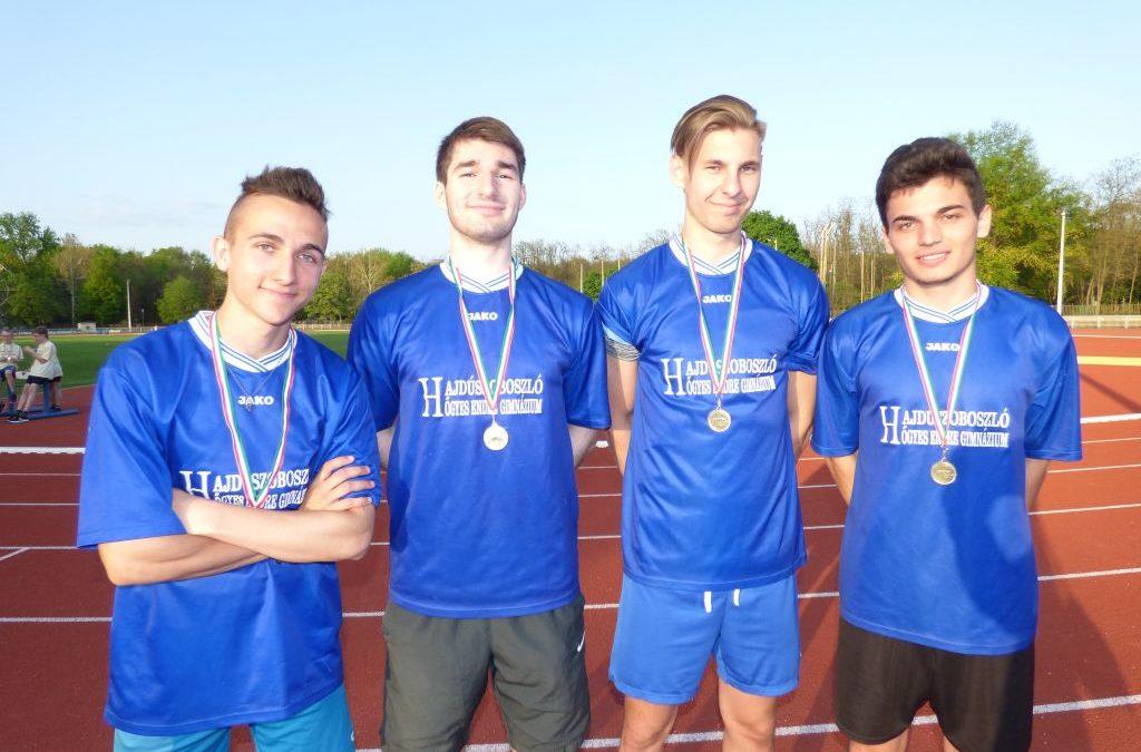 Atlétika Diákolimpia egyéni pályabajnokság megyei döntő