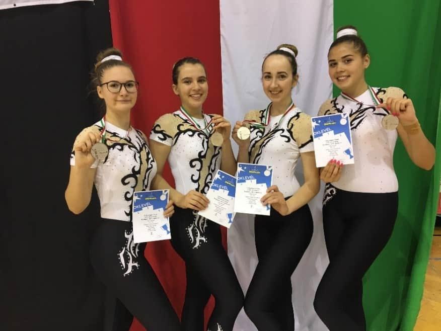 Aerobic Diákolimpia országos döntő