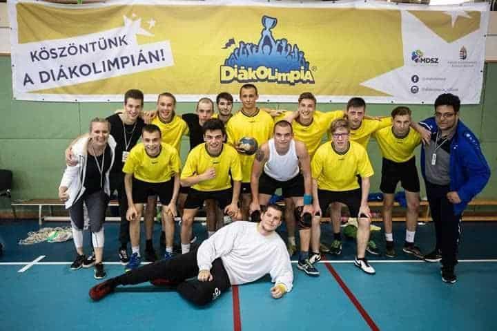 """Kézilabda Diákolimpia V.-VI. korcsoport """"B"""" Kategória Országos Döntő"""