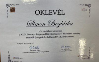 Simonyi Zsigmond helyesírási verseny