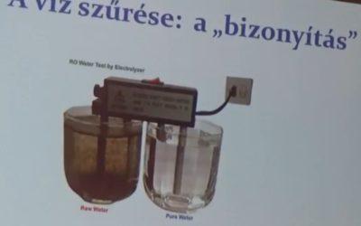 Dr. Fábián István, az MTA doktorának előadása